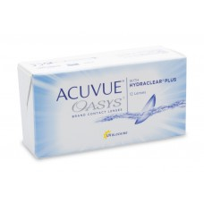 Acuvue Oasys  with Hydraclear Plus, 12 линз