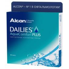 Dailies Aqua Comfort Plus, 90 линз