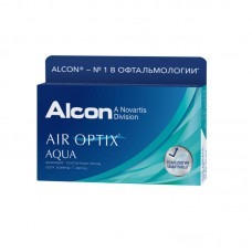 Air Optix Aqua, 3 линзы